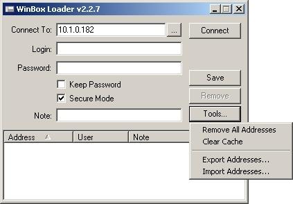 mikrotik routeros v2.9.27